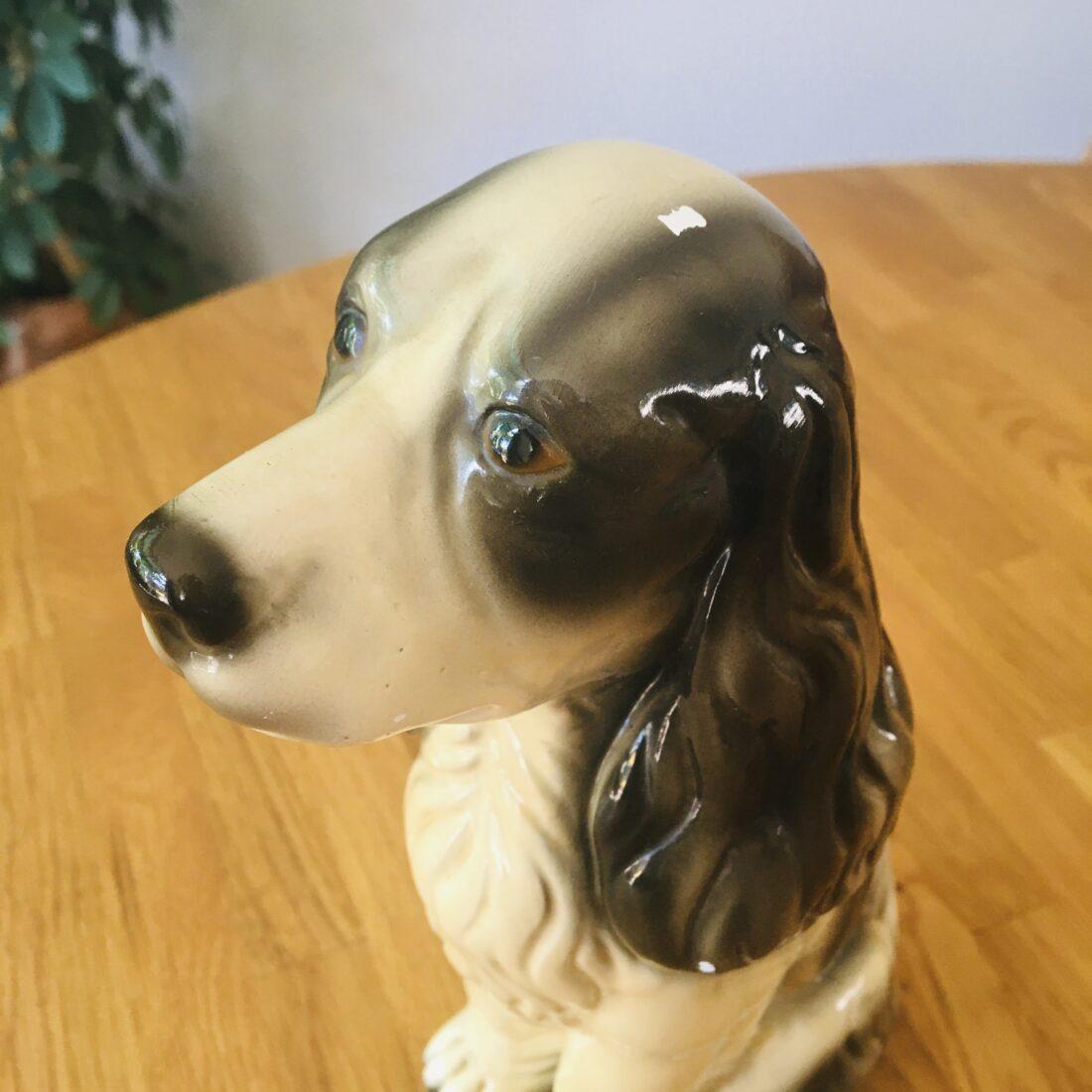Vintage hond keramiek