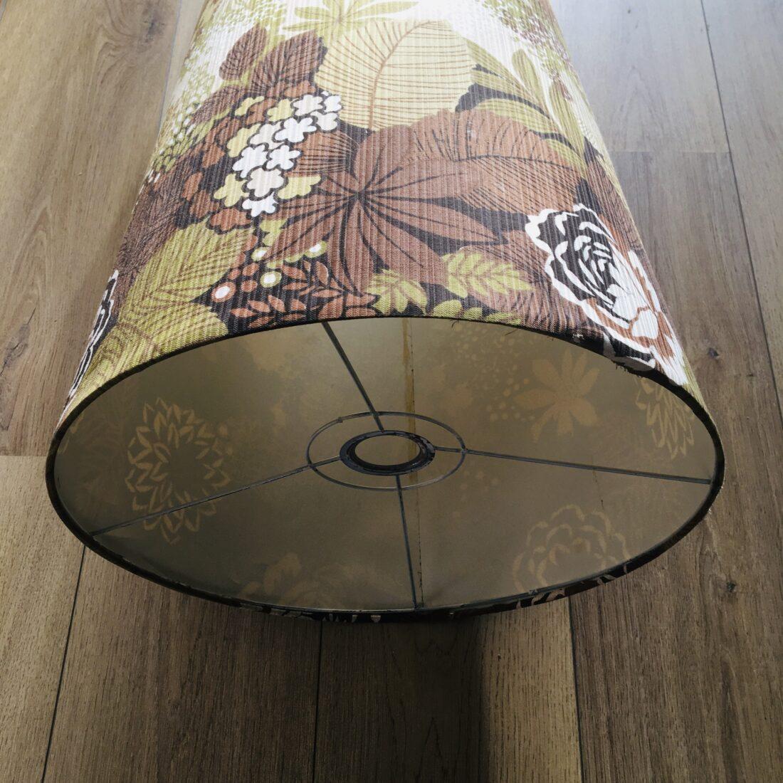 Vintage lampenkap floral