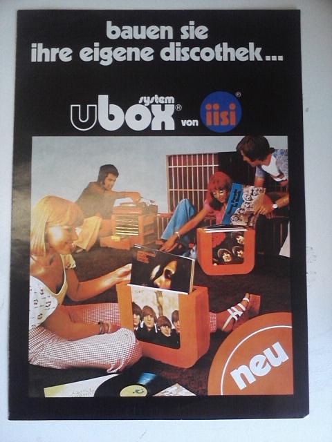 Vintage Ubox platehouder