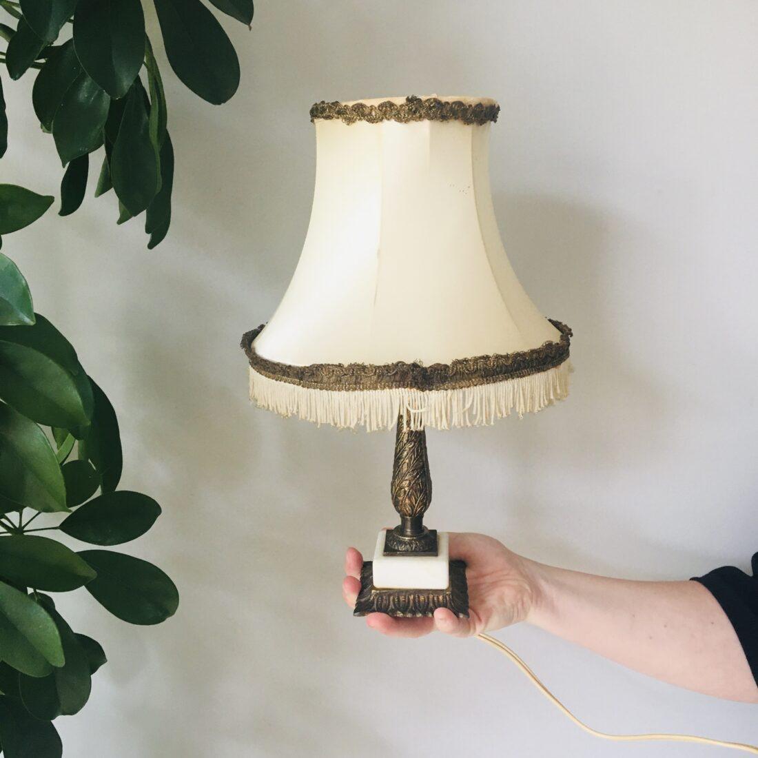 Vintage Hollywood Regency tafellamp